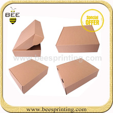 Beautiful design recycled small mail paper kraft corrugated box for gift packaging