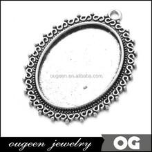 2015 Newest Fashionable antique Silver finish zinc alloy design saudi gold jewelry