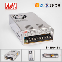 CCTV Camera switching power supply S-350w 24v 14.6a with CE Approved
