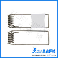LED 50mm downlight lamp retaining spring clip ring, led downlight torsion spring