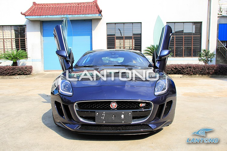 Car Vertical Door Mechanisms Lantong Lambo Door Kit Special For Jaguar F  Series ...