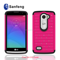 Alibaba Professional Supplier Mobile Phone Bling Case For Lg Leon C40