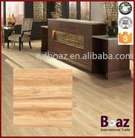Wood look glazed floor and wall rustic ceramic tiles for living room bedroom kitchen bathroom