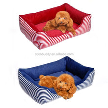 Soft warm puppy bed winter dog bed fleece bed for small pet dog on sale