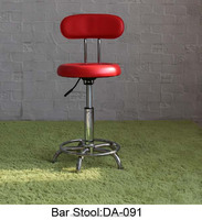commercial furniture red bar stools china with wheels