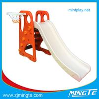 indoor/outdoor playground indoor plastic slide,kids cheap slide,fun toys HOT MT201508001H