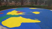 YINHE EPDM rubber Rubberized playgrounds