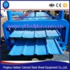 China Made Metal Steel Double Corrugated Roof Panel Machinery