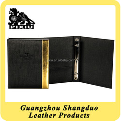 Manufacturer Excellect Quality Royal Leather Resturant Wine Menu