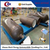 New china widely used 55m3 bulk cement semi trailer/bulk cement tanker semi trailer