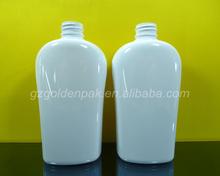 500m white color plastic pet bottle