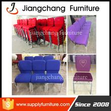 Metal church chair in furniture