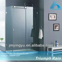 ACSC1802CL No.1 top sale tempered glass design shower enclosure