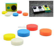 Camera Accessories Colorful Silicone Camera Lens Cap for GoPros Heros 3+/3