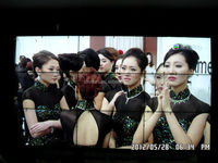 Fashionable 46 inch seamless LCD display for indoor