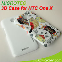 Polymer Case with full size printing for htc one x