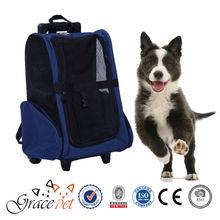 [Grace Pet] Pet Carrier Wheel Roll Around Travel Dog Backpack