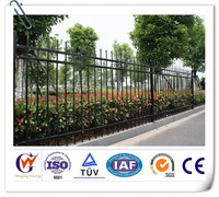 Factory direct wrought iron fence used for sale