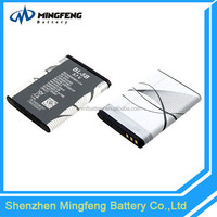 3.7v 890mAh rechargeable BL-5B battery for Nokia mobile phone