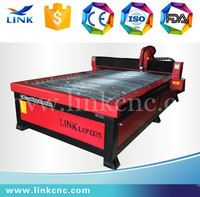 Jinan Link brand rotary optional 63A/100A huyuan power supplier 20mm cnc plasma cutter