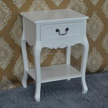 Cream MDF bedside table bedroom furniture sets