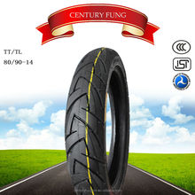 china motorcycle tyre size 80/90-14 used casing tires
