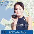 Coche de seguridad de productos-- top vender enlace mapa de google gps tracker tk103