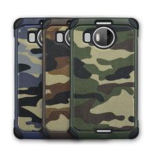 Army shockproof camo leather phone case for Mircosoft Lumia 950/Nokia 950