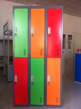 colorful door kids steel locker