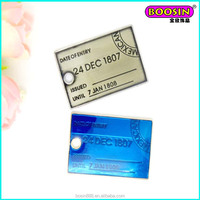 Accessories For Jewelry Wholesale China! Fashion metal mexican visa card charm