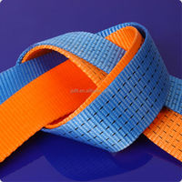 woven webbing belt for lifting cargo lashing seat