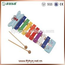 I bambini piccoli strumenti vacanza musicale glockenspiel giocattoli, strumento musicale
