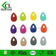 2015 Best selling teether water pearl pendants bpa free silicone toys