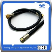 China supplier SAE DIN EN R1~R2 high pressure flexible hydraulic rubber hose pipe