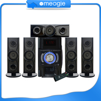 Professional blg audio speaker,5.1 home theatre system with remote controll