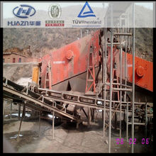 Construction widely used vibrating screen of crusher