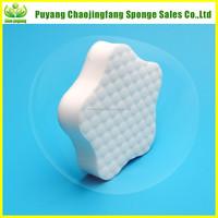 Kitchen Dishwasher Sponge Customized Heart Shaped Sponge