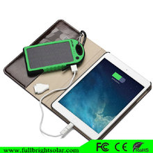 Factory OEM good quality solar charger 5000mAh usb solar mobile charger power for all phones