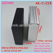 amplificador de auscultadores alumínio extrudado gabinete