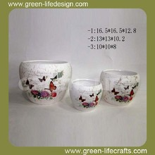 Ceramic garden urns and planters