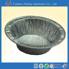 Oven usable aluminum foil baking bowl/container/dish