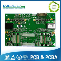 PCB Assembly, which Including Plastic, Metal Box, Coil, Cable Inside