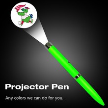 Best Holiday Giveaway Gift Pen LED laser projector pen, OEM Logo Projection Pen for your promotional items