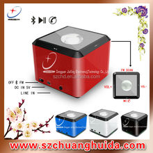 Promotion Wireless Mini Speaker Bluetooth both Mono and Stereo with microphone, TF card solt and FM radio