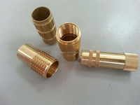 OEM high quality and precision decorative brass furniture fittings made in China