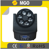 party lights mini 6pcs b-eye led mini moving head bee eye light
