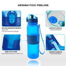 Christmas present bottle Collapsible Water Bottle - Leak Proof for Athletes - Click Onto Backpack or Belt