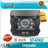 for Mitsubishi Outlander old Car Radio with GPS 3g rds car dvd player