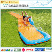 Walmart supplier children sports game single inflatable water slide