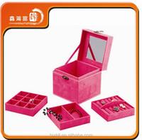 wholesale Luxury fashion jewelry box direct buy china